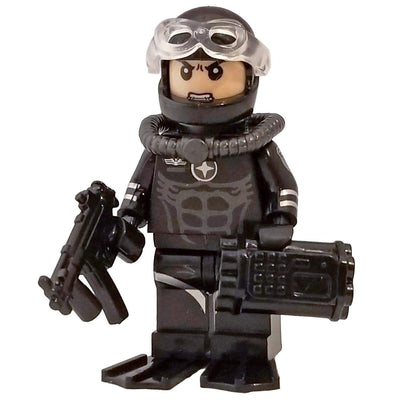 Minifig Combat Diver - Minifigs
