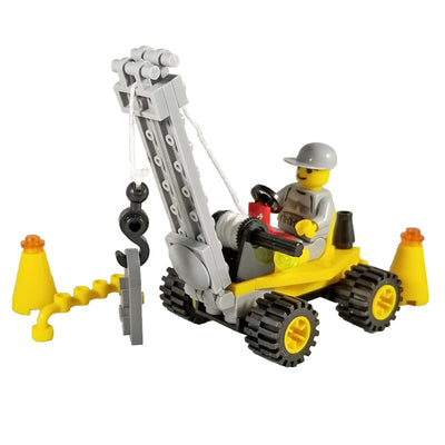 Minifig Construction Crane Mini Set - Vehicles