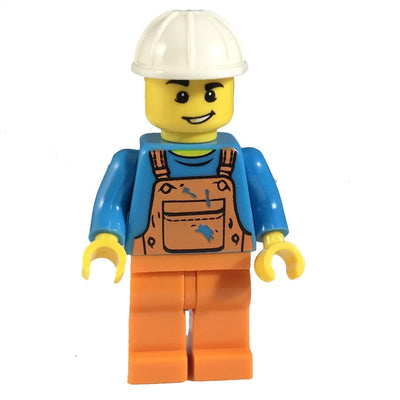 Minifig Construction Guy Bill - Minifigs