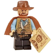 Minifig Cowboy Bounty Hunter-Brick Forces