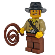 Minifig Cowboy Paden with Black Hat - Minifigs