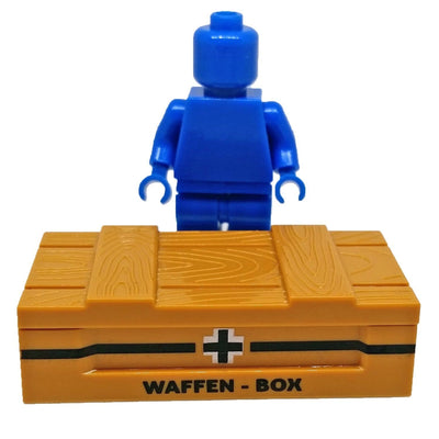 Minifig Crate World War II German Weapons Crate - Dioramas
