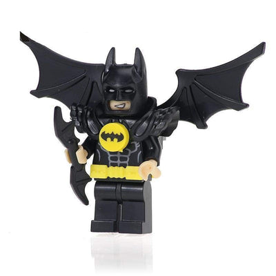 Minifig Dark Bat Winged Armored - Minifigs