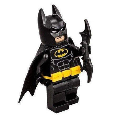 Minifig Dark Bat with Removable Utility Belt - Minifigs