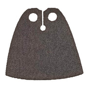 Minifig Dark Grey Cape - Clothing