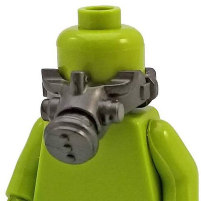 Minifig Dark Grey Mask - Headgear