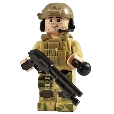 Minifig Desert Breacher-Brick Forces
