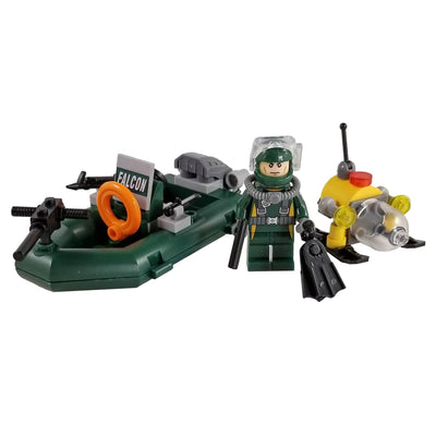 Minifig Dive Rescue Set - Vehicles