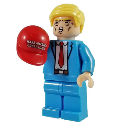 Minifig President Donald Trump - Minifigs