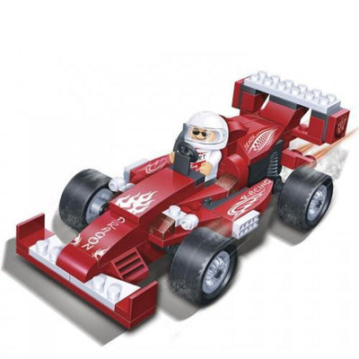Minifig Dragon Racecar Set (102Pieces) - Vehicles