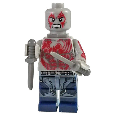 Minifig Drax-Brick Forces