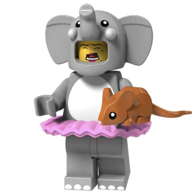 Minifig Elephant Costume Girl - Minifigs