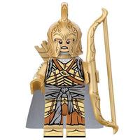 Minifig Elf Warrior with Long Bow - Minifigs