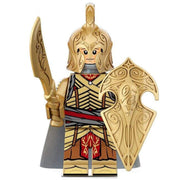 Minifig Elf Warrior with Sword - Minifigs