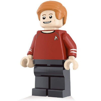 Minifig Engineer Scott - Minifigs