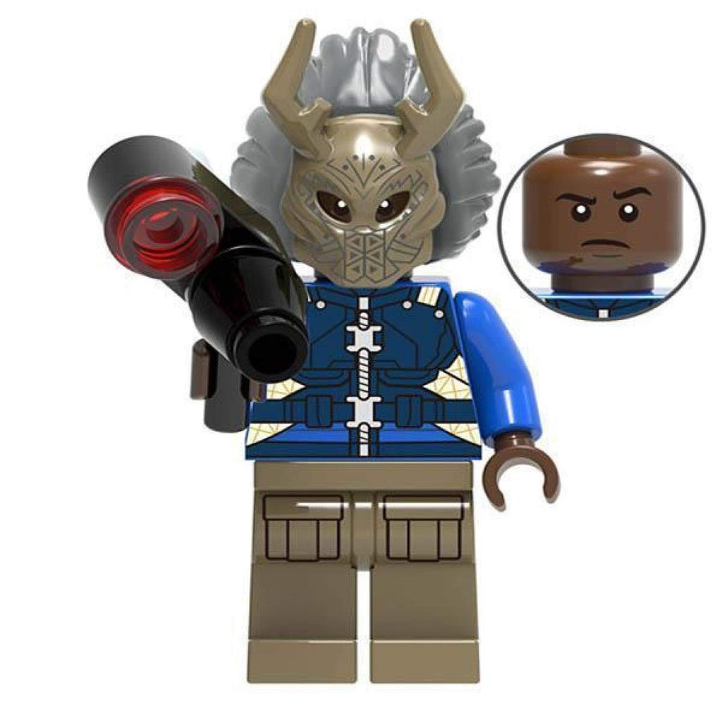Minifig Erik with Mask - Minifigs