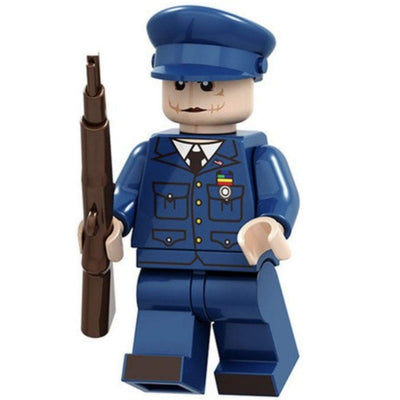 Minifig Evil Clown Officer - Minifigs