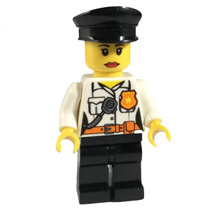 Minifig Female POLICE Officer - Minifigs