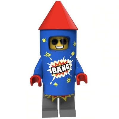 Minifig Firework Guy - Minifigs