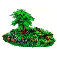 Minifig Flower Stem Grass Roots (1 Piece) - Vegetation