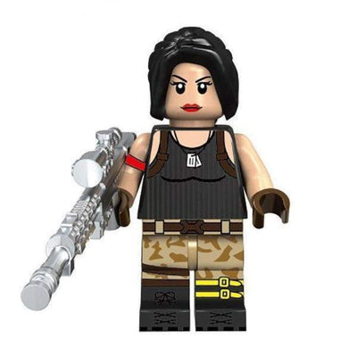 Minifig Fortnite Female Special Soldiers - Minifigs