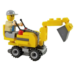Minifig Front Loading Tractor Mini Set - Vehicles