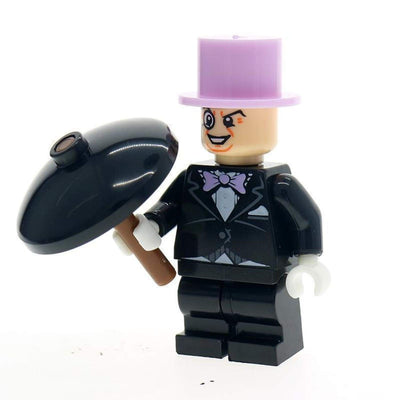 Minifig Gangster Oswald with Pink Hat - Minifigs