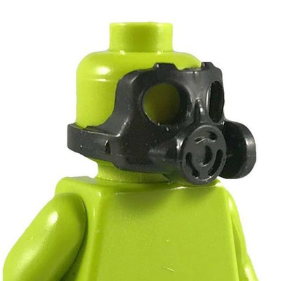 Minifig Gas Mask Black - Headgear