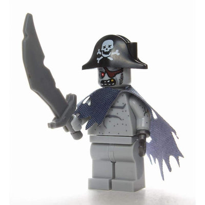 Minifig Ghost Zombie Pirate - Minifigs