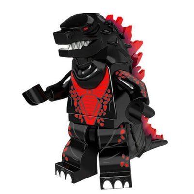 Minifig Godzilla Black-Brick Forces