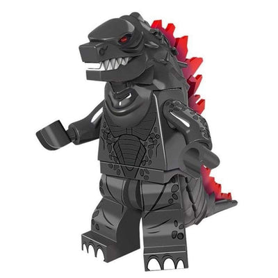 Minifig Godzilla DARK-Brick Forces