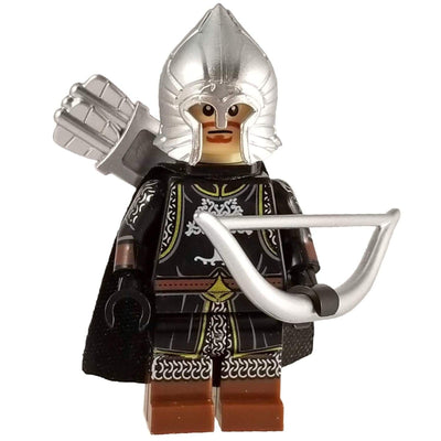 Minifig Gondor Archer with Cape - Minifigs