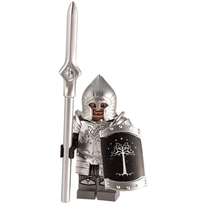 Minifig Gondor Spearman with Armor - Minifigs
