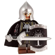 Minifig Gondor Swordsman with Cape - Minifigs