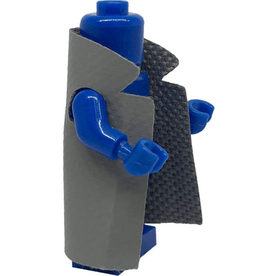 Minifig Reversible Gray Coat - Clothing
