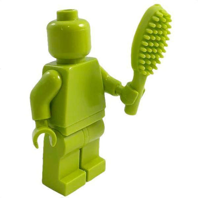 Minifig Green Hair Brush - Accessories