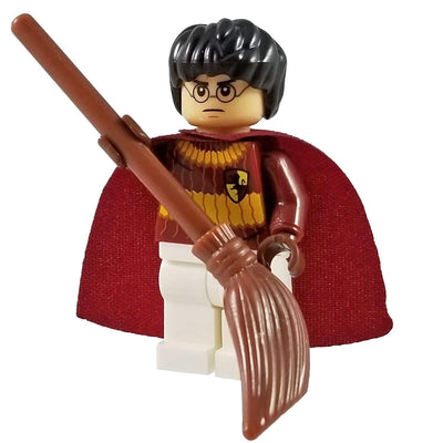 Minifig Harry in Quidditch Robes - Minifigs