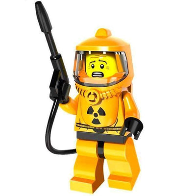 Minifig Hazmat Guy-Brick Forces
