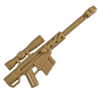 Minifig HCSR Sniper Rifle Tan - Rifle