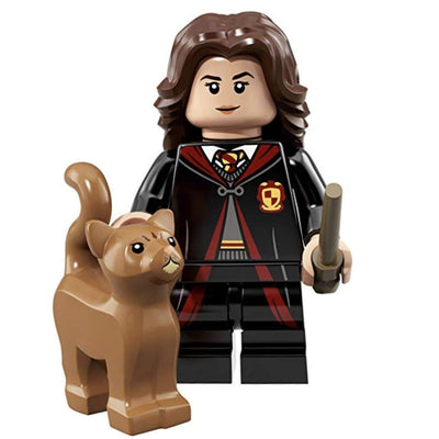 Minifig Hermione with Crookshanks - Minifigs