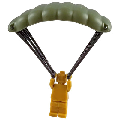 Minifig High-Altitude Military Parachute - Accessories