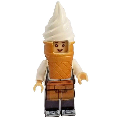 Minifig Ice Cream Cone Guy - Minifigs