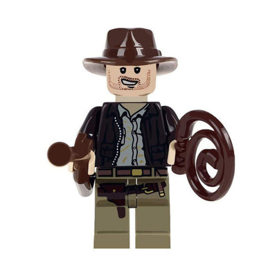 Minifig Indiana Jones - Minifigs