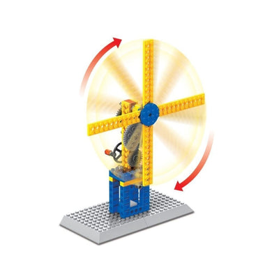 Minifig Ingenius Axes and Gears Set (50 Pieces) - Sets
