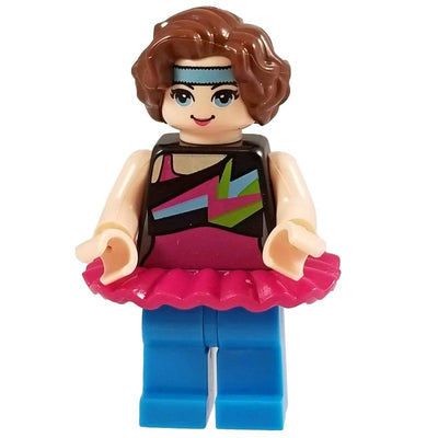 Minifig Jazzercise Girl-Brick Forces