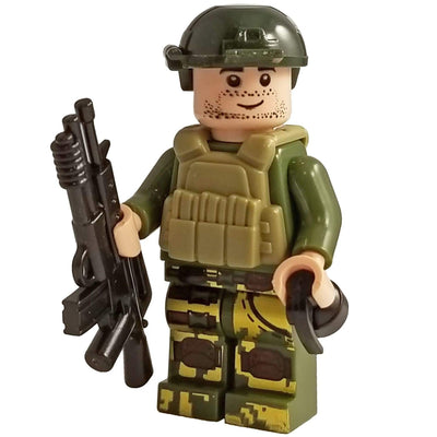 Minifig Jungle Fighter - Minifigs