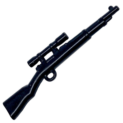 Minifig KAR 98 Scoped Sniper Rifle - Rifle