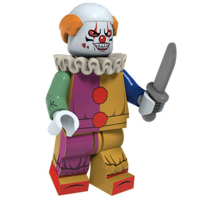 Minifig Killer Clown - Minifigs
