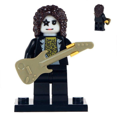 Minifig KISS Rock Band Musician Paul-Brick Forces