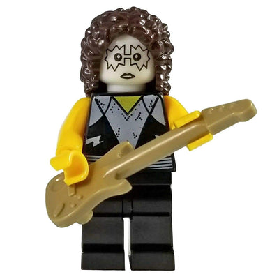 Minifig KISS Rock Band Musician Tommy-Brick Forces